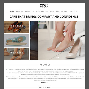 PRO Shoe Care Products Case Study